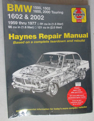 BMW 1600 2002 Haynes Repair Manual