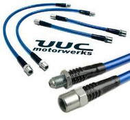 UUC Stainless Steel Brake Line Kit - 4 Lines E30 318i Only