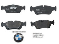 BMW E36 E46 Z4 Front Brake Pad Set