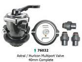 Hurlcon FG Series Mutiport Valve 40mm Top Mount MPV