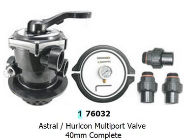 Hurlcon FG Series Mutiport Valve 40mm Top Mount MPV