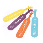 Hand Bookmarks (4 Pk)