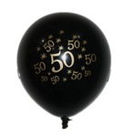 '50' Balloons - Pack of 10