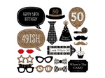 '50' Photo Props