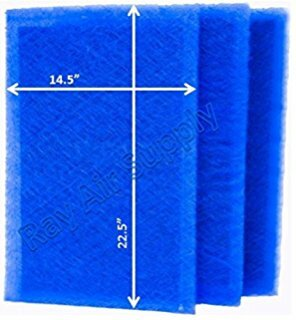 """Stamed and Sta-Med replacement filters fit Dynamic Air Cleaner can use the 1-piece Sta-Med replacement pads which fit any 1"""" filter manufactured by Dynamic. They provide the same type of filtration as the original manufacturer's at a reduced cost. Sta-Med filter pads effortlessly trap airborne particles as small as .007 microns in size.  Dynamic Air Cleaner"""