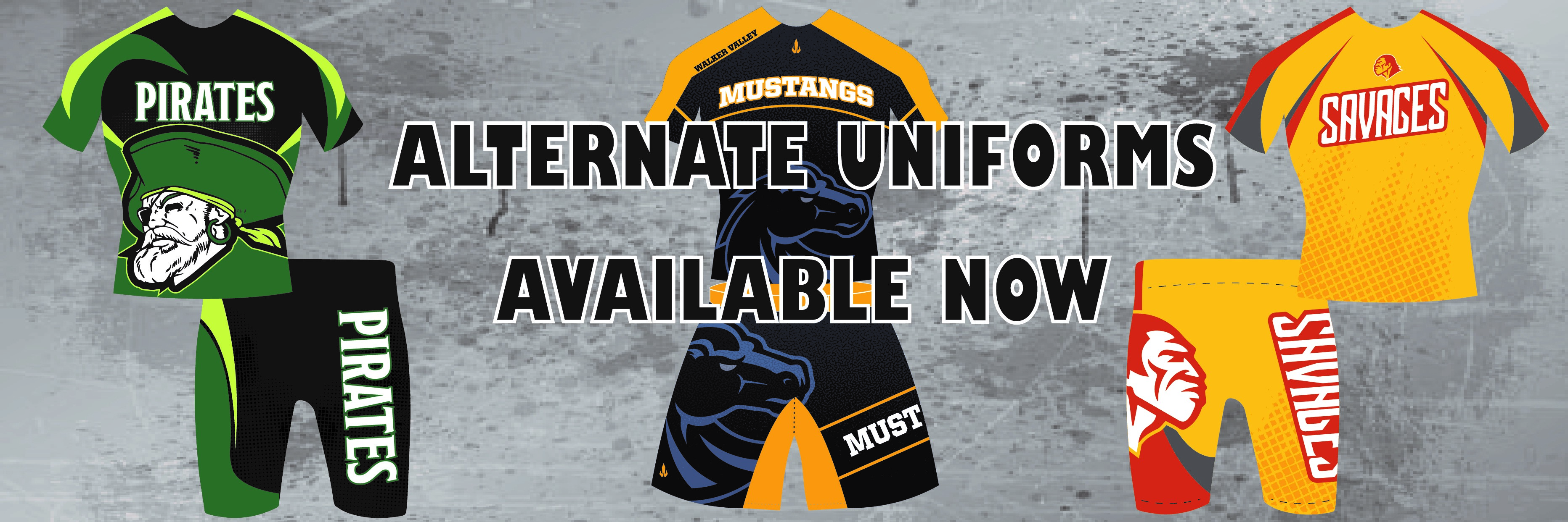Custom Alternate Uniforms