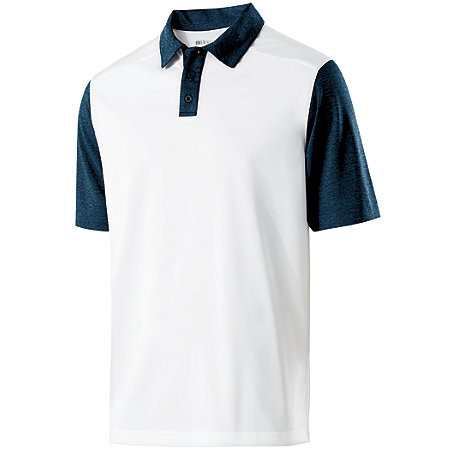 White/Navy - Holloway Pike Polo #229494