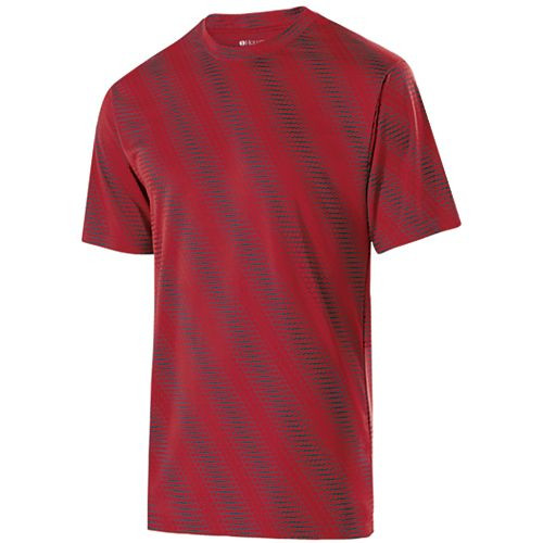 Scarlet/Carbon - Holloway Torpedo Shirt #222503