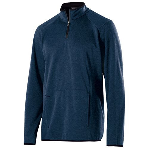 Navy Heather - Artillery 1/4 Zip Pullover Holloway #229176