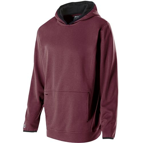 Maroon Heather - Artillery Hoodie Holloway #229175