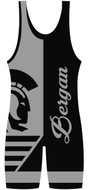 Custom Sublimated WarriorSport Wrestling Singlet The Switch
