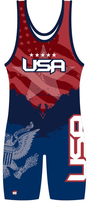 USA Singlet - front view