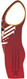 Warrior Sport Red Patriot Stock Sublimated Singlet Left View