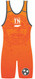 WarriorSport Tennessee State Sublimated Singlet Back View