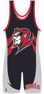 Custom Sublimated WarriorSport Brimstone Wrestling Singlet