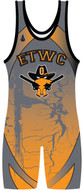 Custom Sublimated Wrestling Singlet The Tempest By WarriorSport