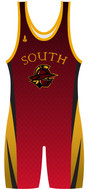 Custom Sublimated WarriorSport  Wrestling Singlet The Sweep
