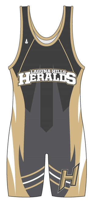 "Custom Sublimated WarriorSport Singlet ""The Herold"""