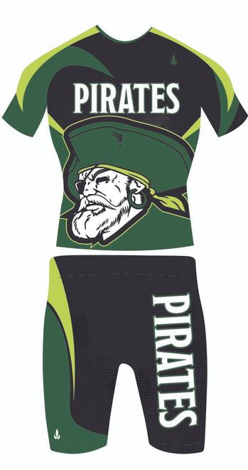 Two Piece Wrestling Uniform Rough Rider Front