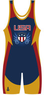 Sublimated Stock WarriorSport Singlet