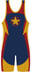 WarriorSport Freedom Stock Sublimated Singlet Back View