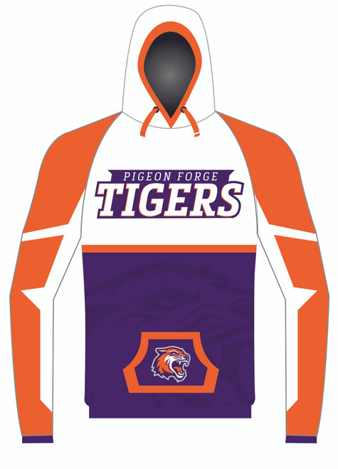 WarriorSport Wear 1252 Custom Sublimated Hoodie