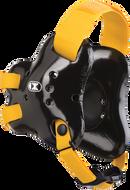 Black/Light Gold Fusion Headgear by Cliff Keen
