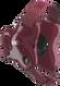 Maroon/Maroon Fusion Headgear by Cliff Keen