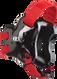 Black/Scarlet Fusion Headgear by Cliff Keen
