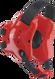 Scarlet/Black Fusion Headgear by Cliff Keen