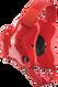Scarlet/Scarlet Fusion Headgear by Cliff Keen