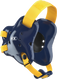 Navy/Light Gold Fusion Headgear by Cliff Keen