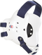 White/Navy Fusion Headgear by Cliff Keen