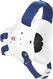 White/Royal Fusion Headgear by Cliff Keen