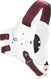 White/Maroon Fusion Headgear by Cliff Keen