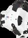 White/Black Fusion Headgear by Cliff Keen
