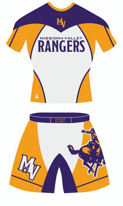 Ranger Alternate Uniform Template Front View