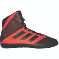 Adidas Wrestling Shoes: Youth Mat Wizard Red/Black