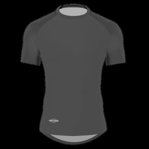 Dark Grey Matman Compression Shirt