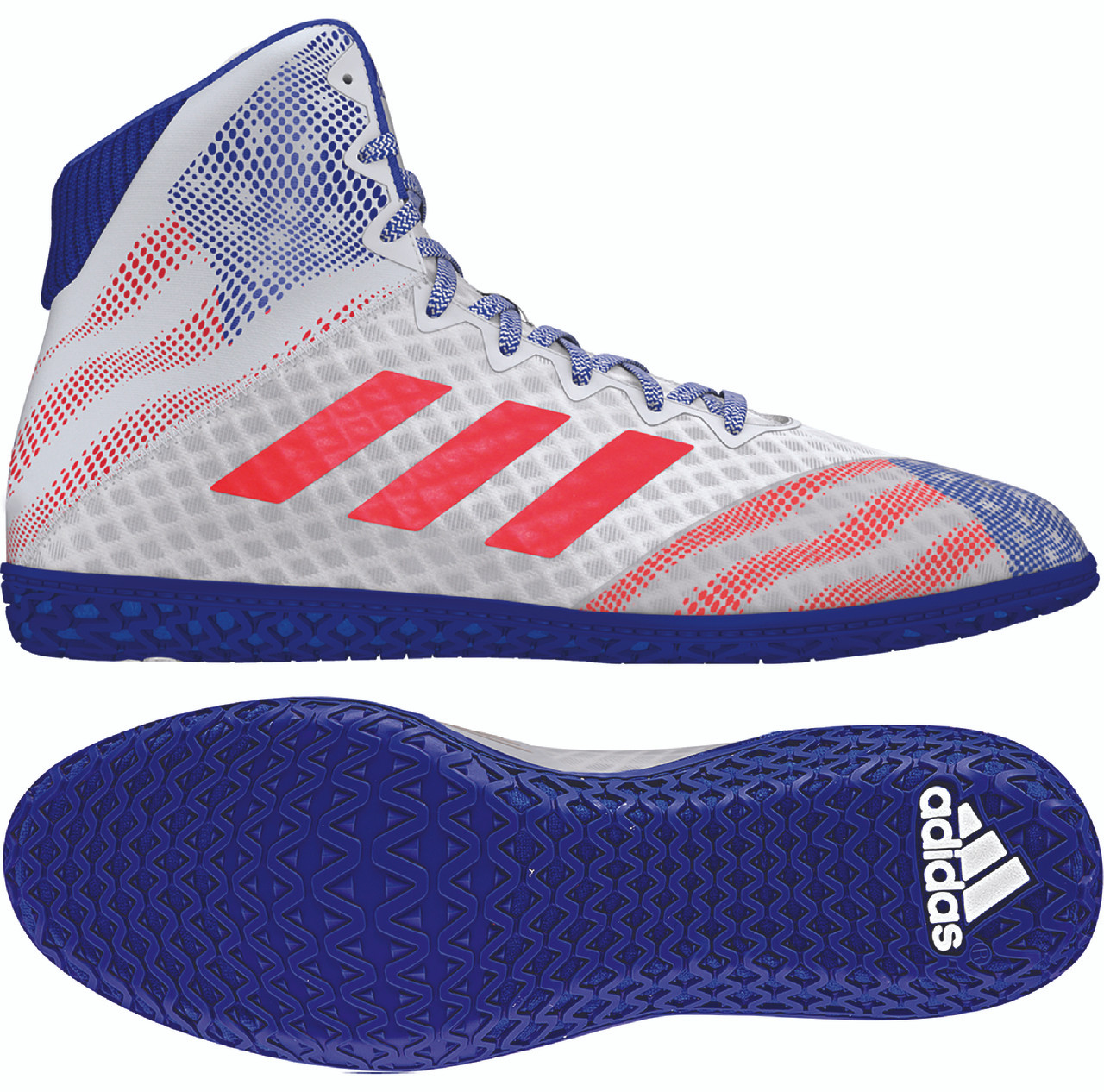 ADIDAS MAT WIZARD HYPE WHITEBLUERED BY ADIDAS EF1475