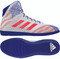 White/Royal/Red adidas Mat Wizard Hype Wrestling Shoe