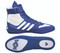 White/Royal Combat Speed 5 Wrestling Shoe by Adidas