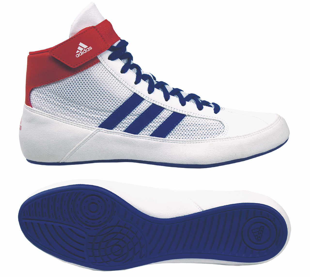 c4f5c056eccbc ADIDAS YOUTH HVC 2 - WHITE/RED/ROYAL - G25909 - NEW FOR 2019