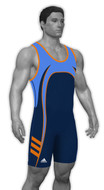 Sublimated Adidas aS108c-01-07 Custom CLIMALITE Sublimated Singlet
