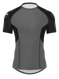 Matman 2 color Compression Shirt in Dark Grey/Black