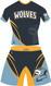 WarriorSport Hunter alternate uniform template WS1810