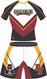 Blitz 2 Piece Wrestling Uniform Front View by  WarriorSport Wear