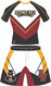 Blitz 2 Piece Wrestling Uniform Front View by  WarriorSport Wear