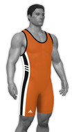 Sublimated Adidas aS108c-02-01 Custom CLIMALITE Sublimated Singlet