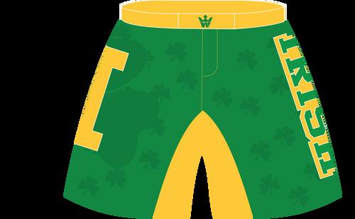 Irish front short view